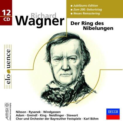 Richard Wagner (1813-1883) & Karl Böhm - Der Ring Des Nibelungen - Jubiläums-Edition zum 200. Geburtstag (Remastered, 12 CDs)