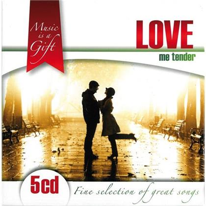 Music Is A Gift - Various - Love Me Tender (5 CDs)