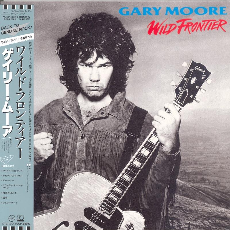 Gary Moore - Wild Frontier - Papersleeve & 3 Bonustracks (Remastered)