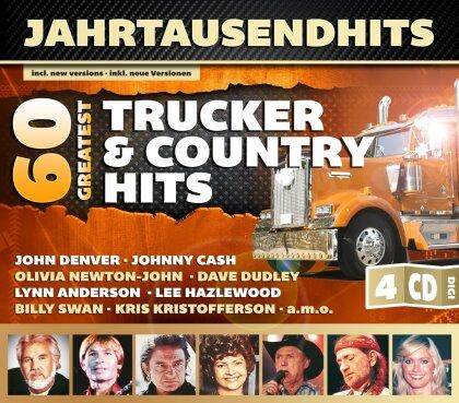 60 Greatest Trucker & Country - Various - Jahrtausendhits (4 CDs)