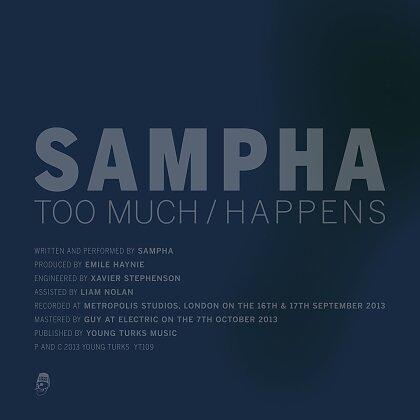 """Sampha - Too Much (12"""" Maxi)"""