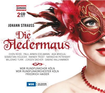 Chen Reiss, Paul Armin Edelmann, Wdr Rundfunkchor, Johann Strauss, Friedrich Haider, … - Fledermaus (2 CDs)