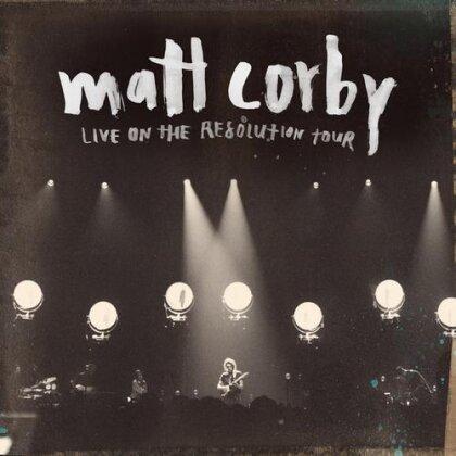 Matt Corby - Live On The Resolution Tour