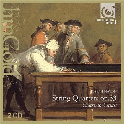 Cuarteto Casals & Joseph Haydn (1732-1809) - String Quartets Op33 (2 CDs)