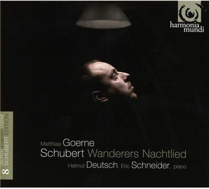 Matthias Goerne (Bar) Helmut Deutsch Eric Schnei, Helmut Deutsch, Franz Schubert (1797-1828) & Matthias Goerne - Wanderers Nachtlied - Schubert Edition Vol. 8 (2 CDs)