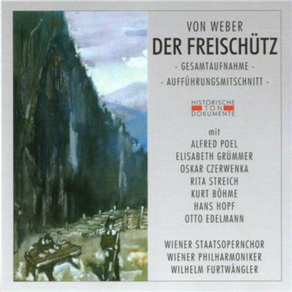 Wiener Staatsopernchor, Alfred Poel, Elisabeth Grümmer, Oskar Czerwenka, Rita Streich, … - Freischütz - Historische Tondokumente (2 CDs)