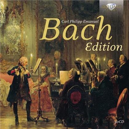 Carl Philipp Emanuel Bach (1714-1788) - Carl Philipp Emanuel Bach Edition (30 CDs)