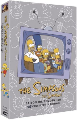 Les Simpson - Saison 1 (Box, Collector's Edition, 3 DVDs)