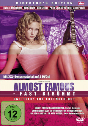 Almost Famous - Fast berühmt (2000) (Director's Cut, 2 DVD)