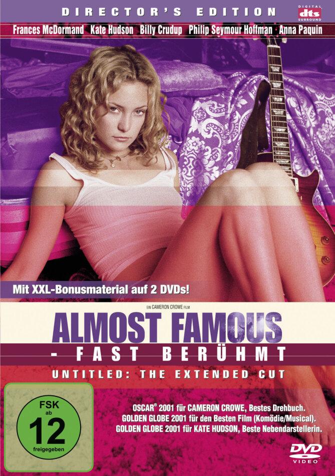 Almost Famous - Fast berühmt (2000) (Director's Cut, 2 DVD)
