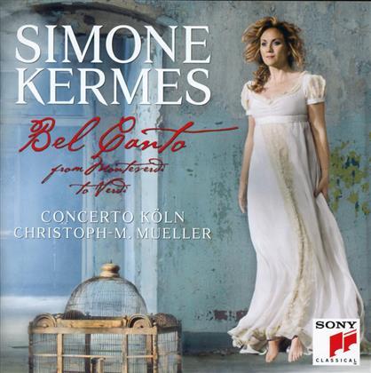 Concerto Köln, Christoph-Mathias Mueller & Simone Kermes - Bel Canto - From Monteverdi To Verdi - Jewelcase