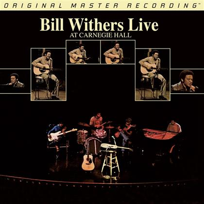 Bill Withers - Live At Carnegie Hall (MFSL Edition, Hybrid SACD)