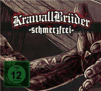 Krawallbrüder - Schmerzfrei (Deluxe Edition, CD + DVD)