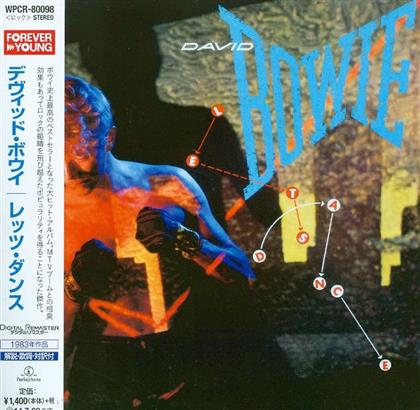 David Bowie - Let's Dance (Japan Edition, Remastered)