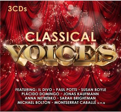 Luciano Pavarotti, Il Divo, Jonas Kaufmann, Michael Bolton, Maria Callas, … - Classical Voices (3 CDs)