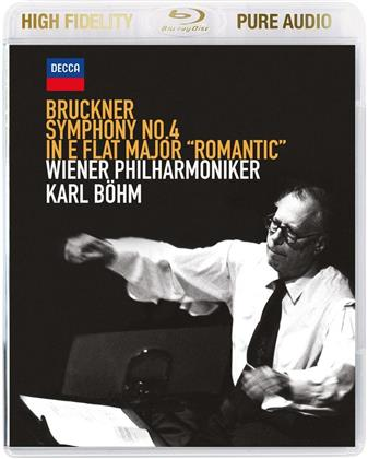 Anton Bruckner (1824-1896), Karl Böhm & Wiener Philharmoniker - Symphony No.4 - Pure Audio - Bluray only!