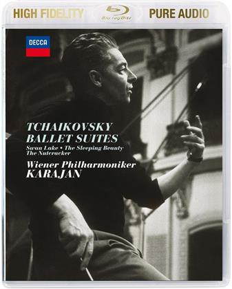 Peter Iljitsch Tschaikowsky (1840-1893) & Herbert von Karajan - Ballet Suites - Pure Audio - Bluray Only!