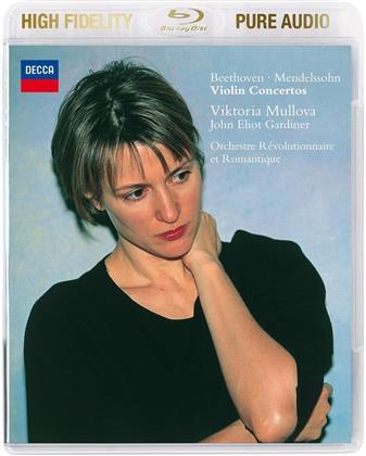 Ludwig van Beethoven (1770-1827), Felix Mendelssohn-Bartholdy (1809-1847), Sir John Eliot Gardiner & Victoria Mullova - Violin Concertos - Pure Audio - Bluray Only!