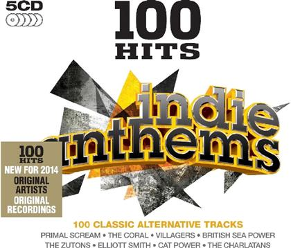 100 Hits - Various - Indie Anthems (5 CDs)