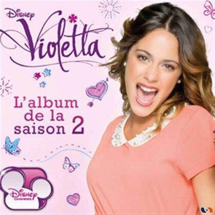 Violetta (Walt Disney) - L'Album de la Saison 2 - OST (CD + DVD)