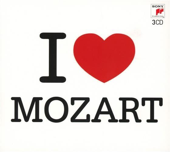 Wolfgang Amadeus Mozart (1756-1791) - I Love Mozart (3 CDs)