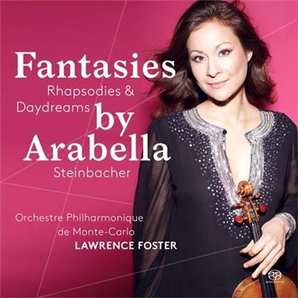 Franz Waxman (1906 - 1967), Pablo de Sarasate (1844-1908), Ralph Vaughan Williams (1872-1958), Camille Saint-Saëns (1835-1921), Jules Massenet (1842-1912), … - Fantasies, Rhapsodies & Daydreams (Hybrid SACD)