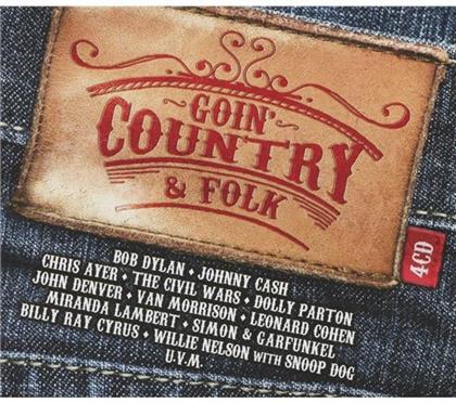Goin' Country & Folk (4 CDs)