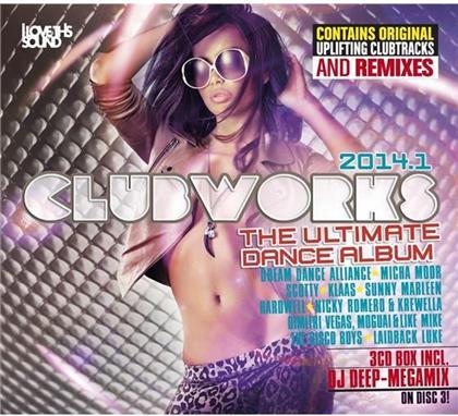 Clubworks - Various 2014.1 (3 CDs)