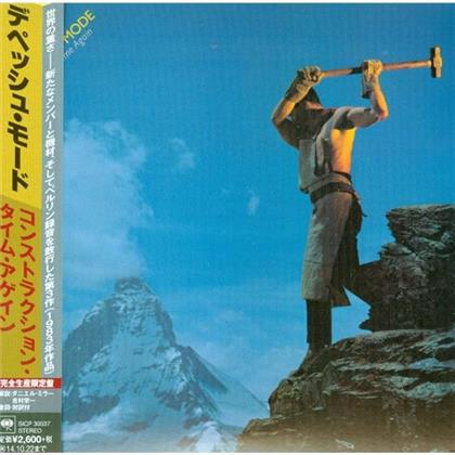 Depeche Mode - Construction Time Again - Papersleeve (Japan Edition)