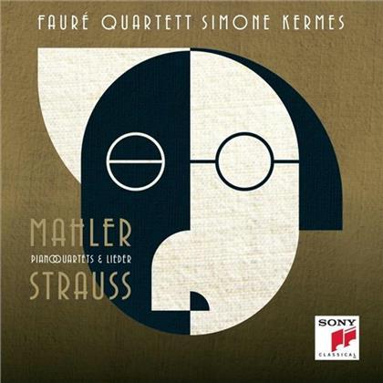 Faure Quartett, Richard Strauss (1864-1949), Gustav Mahler (1860-1911) & Simone Kermes - Piano Quartets & Lieder