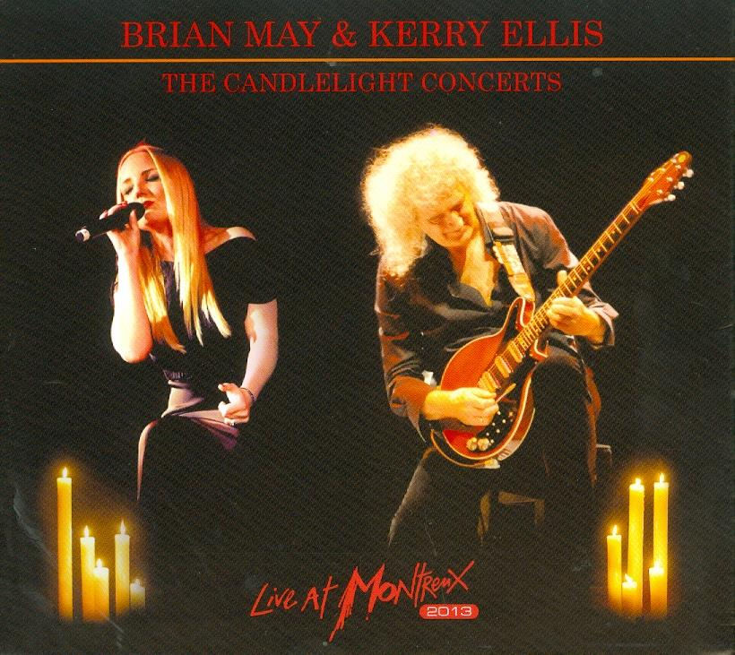 Brian May (Queen) & Kerry Ellis - Candelight Concerts Live At Montreux 2013 (CD + DVD)