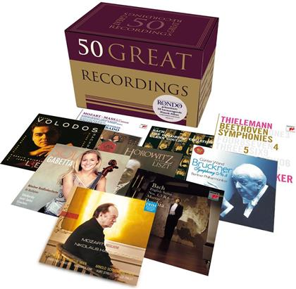 50 Great Recordings (50 CDs)