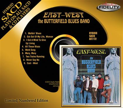 The Butterfield Blues Band - East West - Audio Fidelity (Hybrid SACD)