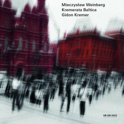 Mieczyslaw Weinberg (1919-1996), Gidon Kremer & Kremerata Baltica - Sonate op126/3, Sonatina op46, Cocertino op42, Sinfonie Nr10 op98 (2 CDs)