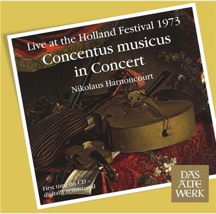 Antonio Vivaldi (1678-1741), Georg Friedrich Händel (1685-1759), Marin Marais (1656-1728), Jean-Philippe Rameau (1683-1764), Heinrich Ignaz Franz von Biber (1644-1704), … - Concentus Musicus in Concert - Holland Festival June 1973 (Remastered)