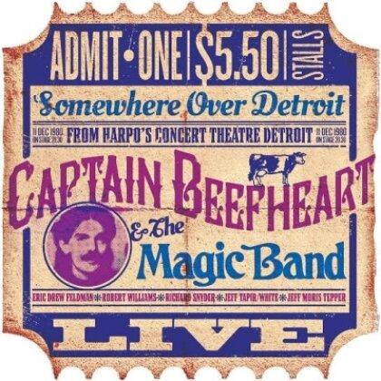 Captain Beefheart - Harpos Detroit Dec 11th 1988