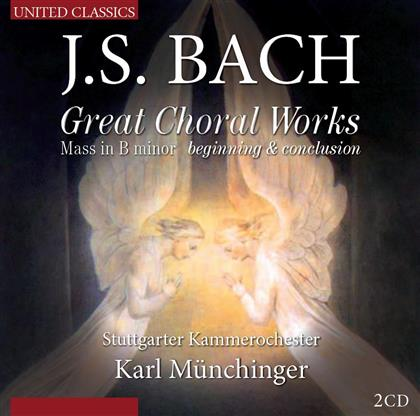 Elly Ameling, Yvonne Minton, Johann Sebastian Bach (1685-1750), Karl Münchinger & Stuttgarter Kammerorchester - Great Choral Works, Mass In B Minor - Beginning & Conclusion (2 CDs)