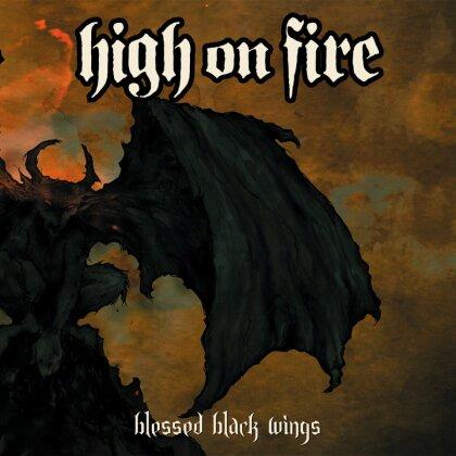 High On Fire - Blessed Black Wings (Deluxe Edition, Orange/Green/Gold Splatter Vinyl, 2 LPs)