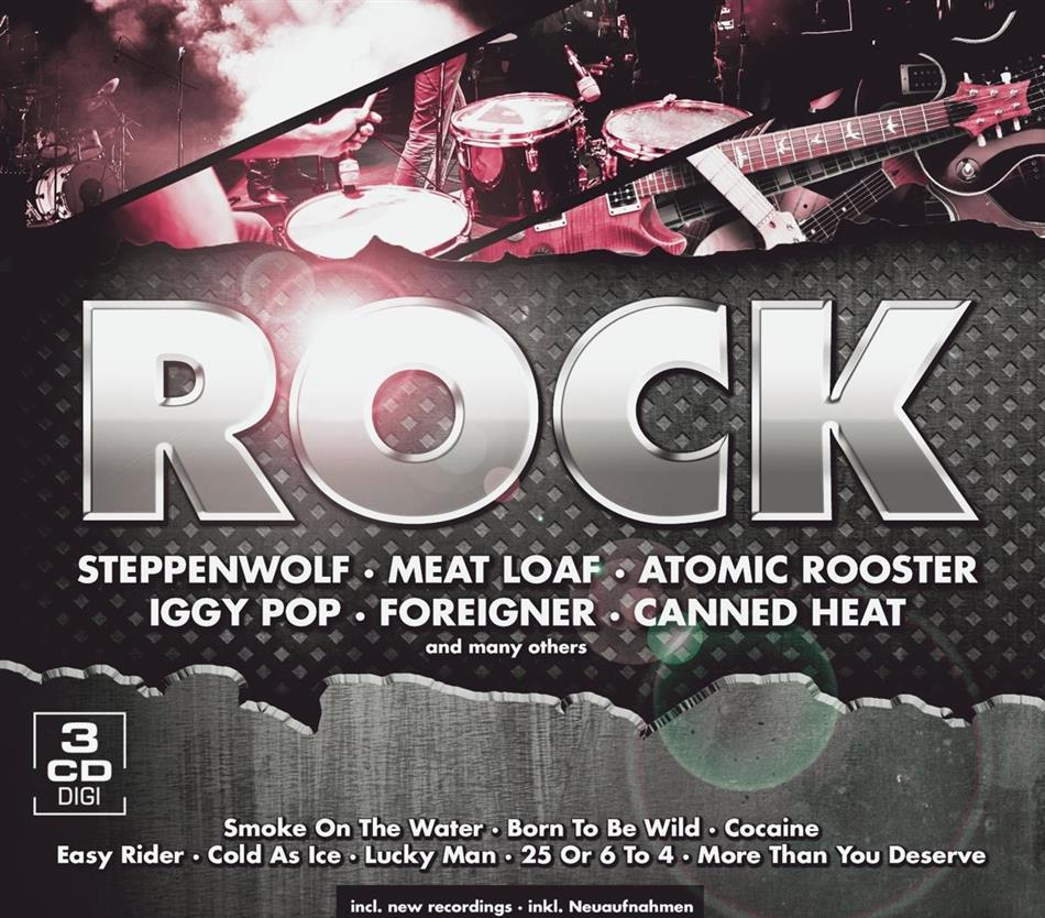 Rock - Various - Euro Trend (3 CDs)
