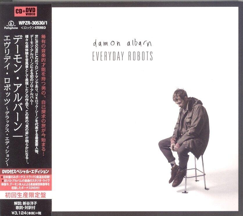 Damon Albarn (Blur/Gorillaz) - Everyday Robots (Japan Edition, Deluxe Edition, CD + DVD)