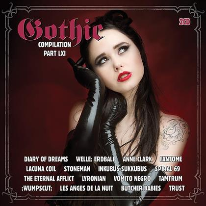 Gothic Compilation - Vol. 61 (2 CDs)
