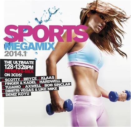 Sports Megamix - Various 2014.1 (3 CDs)