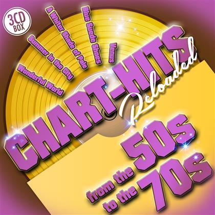 Chart-Hits Reloaded From The 50s To The 70s (3 CDs)
