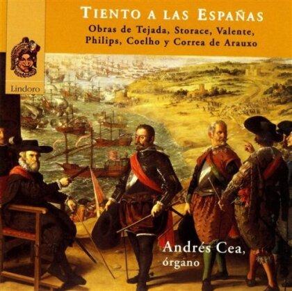 Tejada, Storace, Valente, Philips, Coelho, … - Tiento A Las Espanas