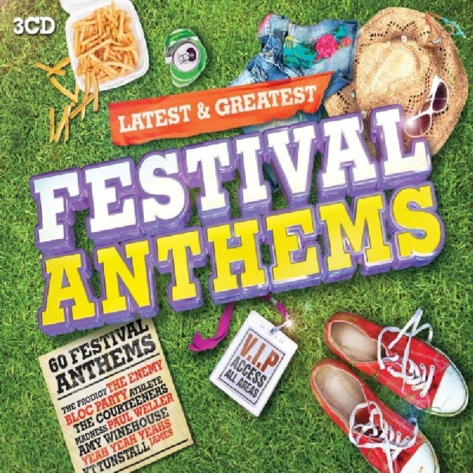 Festival Anthems - Latest (3 CDs)