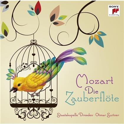 Wolfgang Amadeus Mozart (1756-1791), Otmar Suitner & Staatkapelle Dresden - Die Zauberflöte (Highlights)