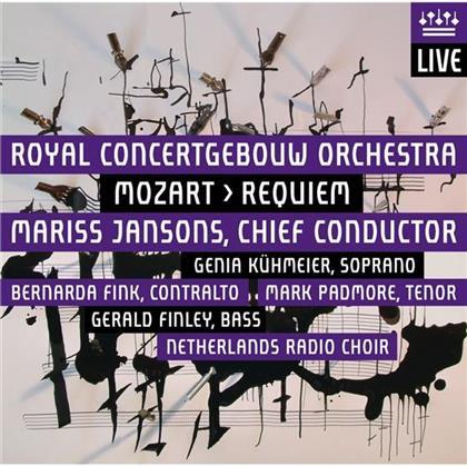 Mariss Jansons, Wolfgang Amadeus Mozart (1756-1791) & Royal Concertgebouw Orchestra Amsterdam - Requiem - Fassung Süssmayr - Live at Concertgebow Amsterdam 14.-16. September 2011 (Hybrid SACD)
