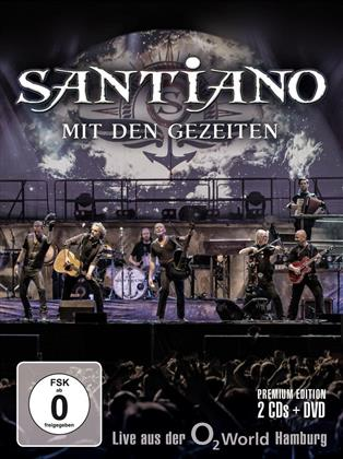 Santiano - Mit Den Gezeiten - Live Aus Der O2 World Hamburg (Limited Edition, 2 CDs + DVD)