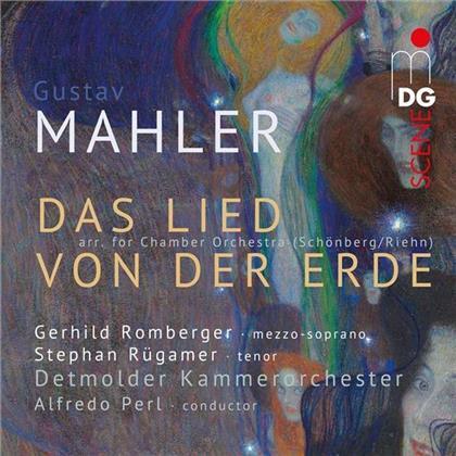 Gustav Mahler (1860-1911), Alfredo Perl, Gerhild Romberger, Stephan Rügamer & Detmolder Kammerorchester - Das Lied Von Der Erde (Hybrid SACD)