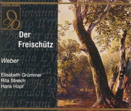 Elisabeth Grümmer, Rita Streich, Hans Hopf, Carl Maria von Weber (1786-1826) & Carlos Kleiber - Der Freischütz (2 CDs)